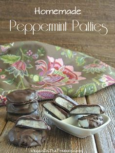 This Homemade Peppermint Patties Recipe is so simple and as pure as a candy can be. No additives or preservatives with only four ingredients.