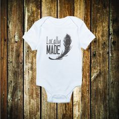 Locally Made Bodysuit and Tee