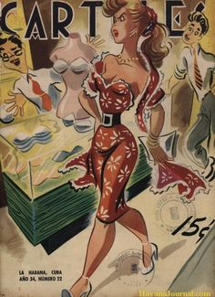 shopping...Carteles, 1953