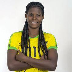 Reggae Girl Khadija Shaw Named Among Top 100 Female Footballers Globally For 2019 Reggae Boyz, Jamaica National, Florida State College, Ten Games, Die 100, Under 17, Team Coaching, University Of Tennessee