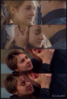 Oh so much love from the first movie to the second movie! FourTris FourTris!