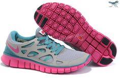 online store 5b882 9a74b Gray Jade Fuchsia 443815-128 Nike Free Run 2 Womens Zapatillas Nike  Baratas, Zapatillas