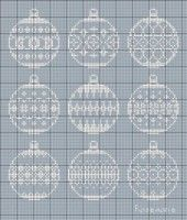 """Photo from album """"Christmas embroidery"""" on Yandex. Xmas Cross Stitch, Cross Stitch Christmas Ornaments, Cross Stitch Needles, Cross Stitch Cards, Christmas Embroidery, Christmas Cross, Cross Stitching, Cross Stitch Embroidery, Christmas Baubles"""