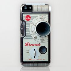 Brownie 8mm Movie Camera iPhone Case by Typography Photography™   Society6