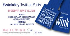 #TwitterParty Alert! Infor @ Stuff to do with your kids in Kitchener Waterloo: Beauty Gives Back For #WinkDay