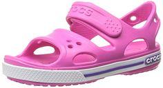 Crocs Cbnd2SndlPS, Unisex-Kinder Durchgängies Plateau Sandalen, Pink (Neon Magenta/Neon Purple 6N4), 19/20 EU - http://on-line-kaufen.de/crocs/19-20-eu-crocs-cbnd2sndlps-unisex-kinder-sandalen-5