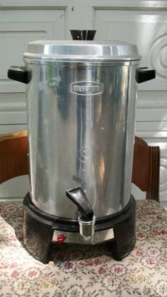 West Bend Aluminum 30 Cup Coffee Maker 32 Electric