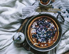 Breakfast in Bed: Blueberry Dutch Baby   - Foodista.com