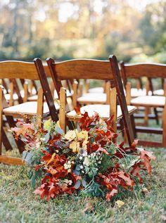 Winston-Salem Outdoor Fall Wedding