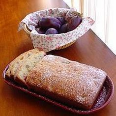 Italian Fresh Prune Plum Bread @keyingredient #italian #bread