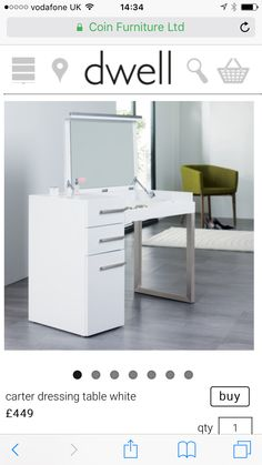 Carter dressing table - Dwell
