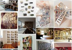 The Bookshelf Porn - DECOmyplace - Home decorating ideas, Interior styling, home layout, incorporating hand-made furniture, decorating, carpentry, sofa, country style, the Nordic wind, the old estate transformation, interior design