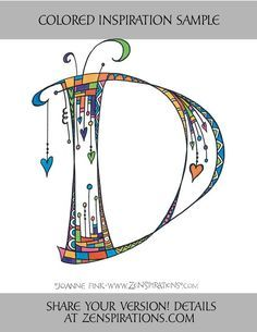 Caligraphy Alphabet, Hand Lettering Alphabet, Doodle Lettering, Penmanship, Joann Crafts, Fancy Letters, Letter D, To Color, How To Draw Hands