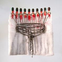 My project consists of 1500 inimitably manipulated matches, which represent the voiceless victims of women trafficking. Dream Catcher, Projects, Home Decor, Women, Log Projects, Dreamcatchers, Blue Prints, Decoration Home, Room Decor