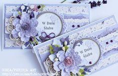 : Kopertówki w fioletach Decorated Envelopes, Handmade Envelopes, Money Envelopes, Card Envelopes, Wedding Cards Handmade, Greeting Cards Handmade, Indian Wedding Gifts, Mixed Media Cards, Gift Envelope