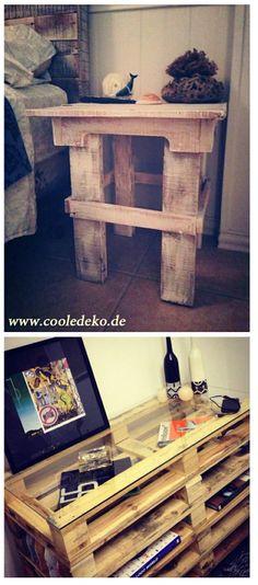 Möbel aus Europaletten nachhaltig