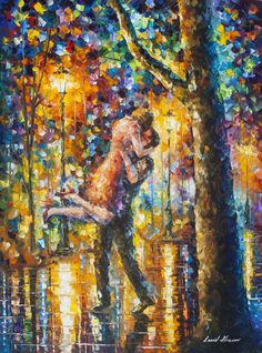 JUMP KISS deal of the day. Mixed media oil on canvas/limited edition giclee on canvas by L.Afremov https://afremov.com/JUMP-Mixed-media-oil-on-canvas-By-Leonid-Afremov-Size-30-x40-75cm-x-100cm.html?bid=1&partner=20921&utm_medium=/offer&utm_campaign=v-ADD-YOUR&utm_source=s-offer
