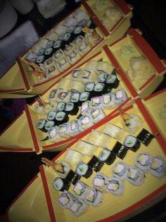 Boats full of sushi - now that's a flotilla I could get behind Benihana #BeniGirlsBash // Slimming World Update Week 60 // Mrssavageangel
