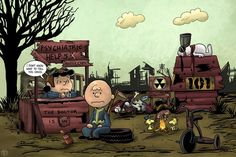 Oh, Good Grief #Fallout x #Peanuts