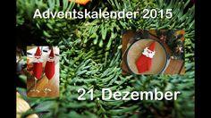 Serviette weihnachtlich gefaltet / RuthvonG