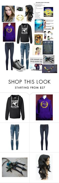 """""""Untitled #134"""" by maddie-1799 ❤ liked on Polyvore featuring Frame Denim, J Brand and Converse"""