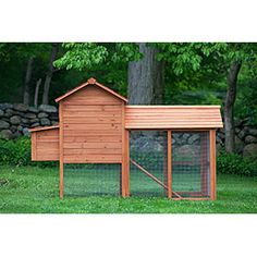 """The Clubhouse"" Coop w/Run (up to 4 chickens) from My Pet Chicken"