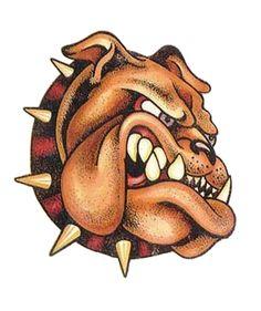 .Bull dogs smile!