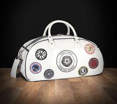 Fred Perry Twisted Wheel Northern soul patch holdall