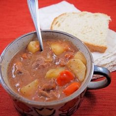 Crock Pot Beef Stew 1 Tbsp. Worcestershire sauce ½ C flour 1 tsp salt 1 tsp pepper ¼ + 1 Tbsp water 1½ lb. beef stew meat 4 medium potatoes, cubed 3-4 large carrots, sliced 1¾ C beef stock or broth 14-18 oz. diced tomatoes, undrained