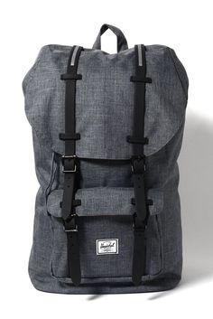 Herschel Supply Co. Little America Cross Charcoal Backpack | South Moon Under