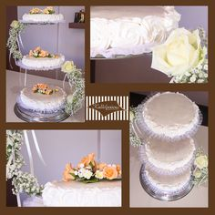 wedding cake at www.kallivroussis.gr
