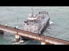 Big Ship And Boat Crashes Into Bridge Compilation