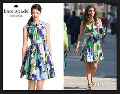 5bda3c26a855 Emmy Rossum s Kate Spade New York Carissa Dress
