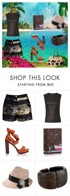 """""""Untitled #693"""" by spectrearcane ❤ liked on Polyvore featuring Ted Baker, Helmut Lang, Surface To Air, Brunello Cucinelli, Kenneth Jay Lane and Tory Burch"""