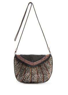 MANGO Messenger bag beads