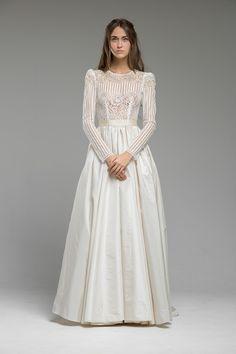 Long Sleeved Wedding Dress 'Magnolia' from Katya Katya Shehurina