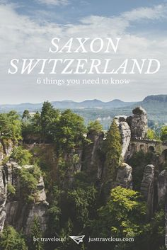 Thinking about a hiking trip in Germany? Ever heard of Saxon Switzerland? Always wanted to meet Snow-White? Then this post is for you...