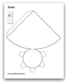 Moldes De Figuras Geometricas Para Armar E Imprimir 5