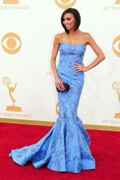 Giuliana Rancic On the Red Carpet at the 65th Primetime Emmy Awards [Photo by Amy Graves]