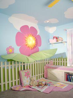 Baby Girl Room Ideas with a Garden Theme
