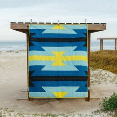 Low Tide Quilt by Vacilando Quilting Co.
