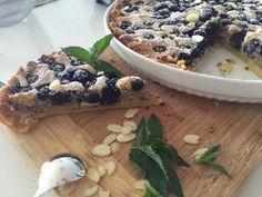 Tarta cu Crema Frangipane si Afine Oatmeal, Cakes, Breakfast, Food, Pie, Breakfast Cafe, Essen, Cake, Pastries