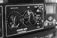 Universal Audio LA-610 vintage preamp compressor... used in recording many classics by the likes of Frank Sinatra, Dean Martin, The Beach Boys, Tom Jones, Van Halen, even some Led Zeppelin... great chocolate tone with very musical distortion and smooth as silk compression. I have one and it sounds just brilliant, especially for the old crooner tunes.