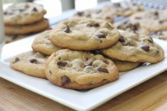 .Easy Gluten Free Soft and Chewy Chocolate Chip Cookies. From Divascancook