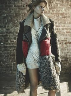 WINTERSPIRATION: 5 STUNNING SHEARLING COATS - Queen of Jet Lags | Queen of Jet Lags
