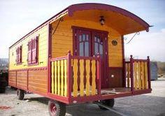 Zirkuswagen Wohnwagen