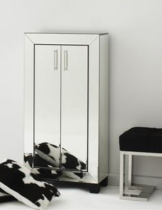 Shop Isabelle Mirrored Cupboard at Interiors Online. Exclusive High End Furniture. Space Matters, Mirrored Bedroom Furniture, Mirror Cabinets, Cupboards, Manhattan Apartment, Interiors Online, Online Furniture, Armoire, Locker Storage