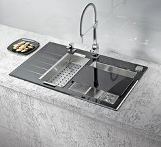 Die moderne Küche einrichten - 20 einzigartige Küchenspülen