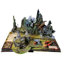 HARRY POTTER: A POP-UP BOOK ~hard to find example of the pages!  I love this!   (note: link is to Signals catalog list price $35, but Amazon has it for $15!)