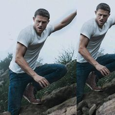 MY BEAUTIFUL KING 😍😍😍😭❤️❤️❤️❤️ LETS APPRECIATE THOSE SEXY ARMS !! MY GOSSHH 😩😍 #CharlieHunnam #KingArthur #MensHealthMagazine #sexyarms #sexyhands #icantbreathe #inlove #inlove #mysexyman #perfectjaw #perfectman #tshirtonpoint #themostsexiestman